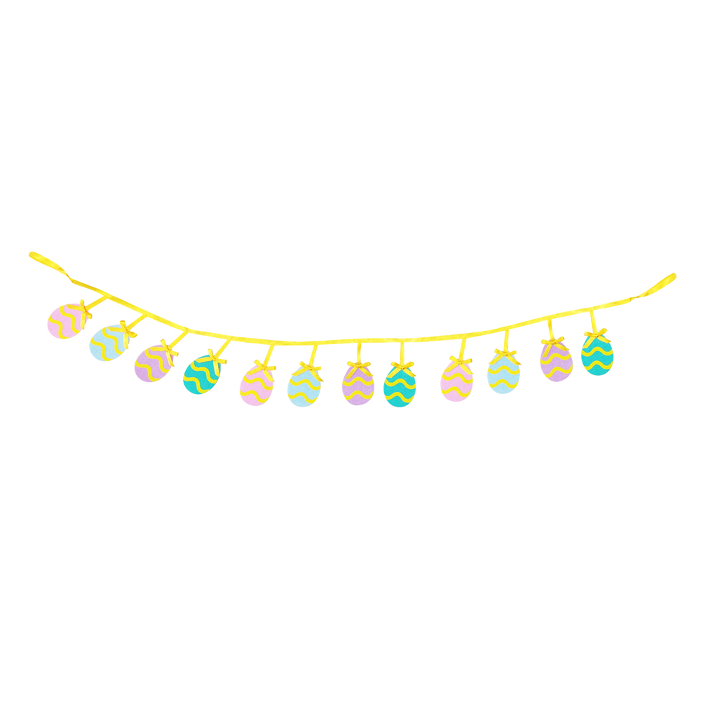 Easter Egg Banner Bunting Flags