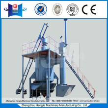 Coal gas producer coal gasifier for aluminum melting furnace