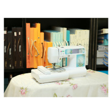 Bordado doméstico portátil y máquina de coser con todos los patrones de diseños Wy900 / 950/960