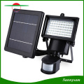60 LED Solar Powered Security Light Motion Sensor LED Flood Light Lamp Wall Mounted Emergency Light