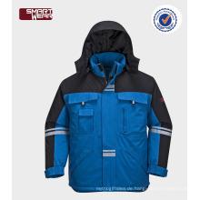 Schutz der Sicherheit Großhandel warme Arbeitskleidung Winterjacke