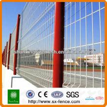 Защитный металлический забор