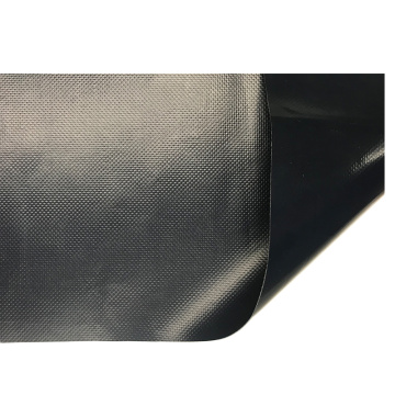 500d black truck fabric coated tarps sheet