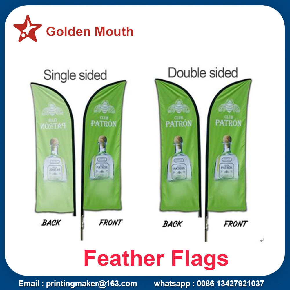 advertising feather flags