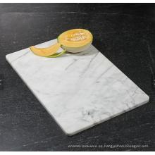 Tabla para servir de corte de mármol popular / tabla de cortar / tabla de cortar