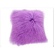 Direct sale real mongolian tibet lamb fur blanket