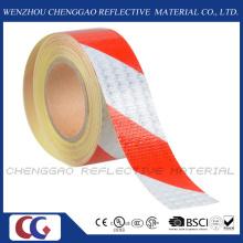Fita de barricada de material reflexivo de alto risco de visibilidade do favo de mel (C3500-S)