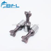 Фрезы ласточкиного хвоста CNC карбида вольфрама BFL для обрабатывать металла