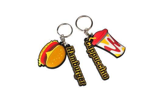 Custom Design Soft PVC Keychain