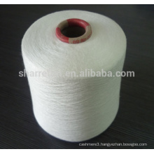 90% modal /10%cashmere yarn raw white