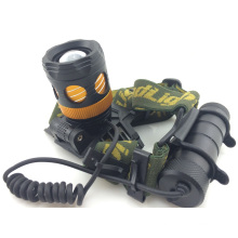 5W LED Rechargeable Headlight Zoom Light