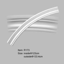 PU 일반 실내 장식을 위한 분기 원 곡선