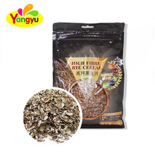 High fibre rye cereal instant wheat oatmeal