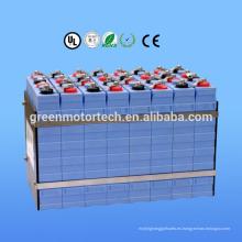 Buen uso del paquete de batería de litio 160Ah 96V