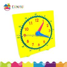 Horloge de démonstration en plastique pour étudiants (K007)