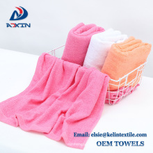 2018 popular 16s terry cotton hand bath towels for beauty salon and hotel