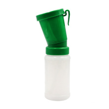 Easy to Use  Livestock Sheep Goats Milking Belt Clip  Green Color Cattle Teat Dip Cup