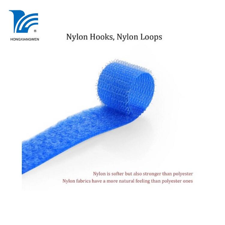 hook loop strap with buckle