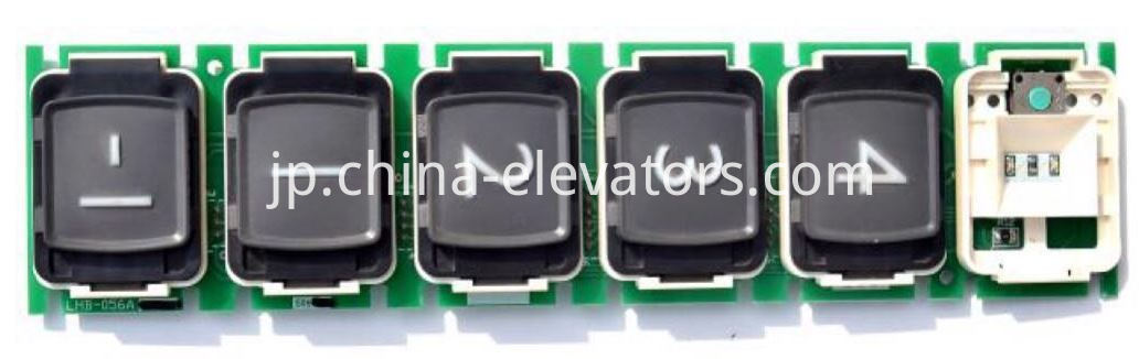 Push Button for Mitsubishi Elevators LHB-056AG06