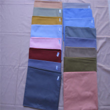 Wholesale t / c 65/35 45x45 uni teints tissu
