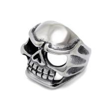 Готический Стиль кольца мужские ювелирных изделий из нержавеющей мода череп дизайн