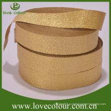 Заводская пользовательская золотая лента Упругий лямки свободный образец