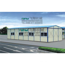 FX discontinuous polyurethane foam sandwich panel machine