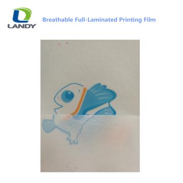 100% Breathable Pe Film Hydrophile perforierte Kunststofffolie