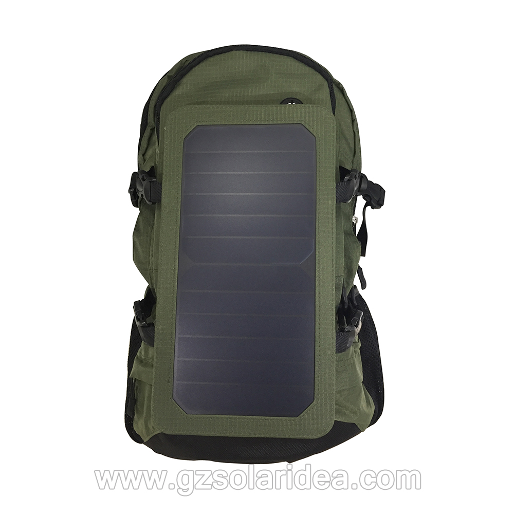 solar panel backpacking