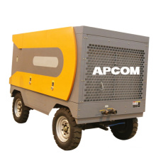 APCOM air compressor for drilling borehole High Efficiency Portable Diesel Air Compressor For Water Well Drill Rig