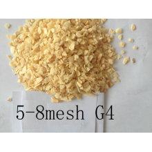 Ar desidratado grânulo de alho 5-8mesh sabor forte G4