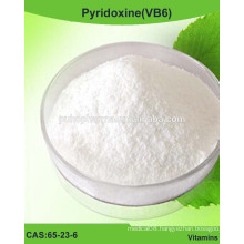 Pyridoxine(VB6) powder, Vitamin B6 /CAS 65-23-6 / USP/BP/EP grade