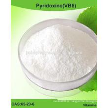 Pó de piridoxina (VB6), vitamina B6 / CAS 65-23-6 / USP / BP / EP