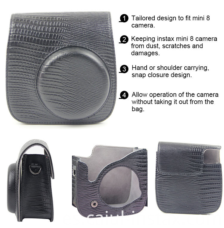 Stripe Mini Camera Bag