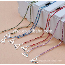 colored crystal bra straps