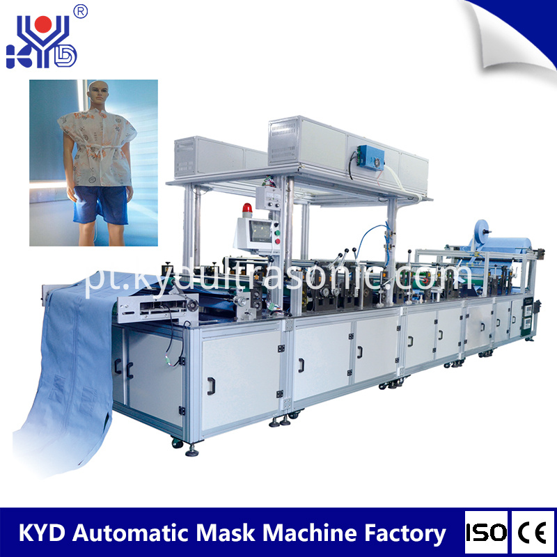 medical gowns making machine