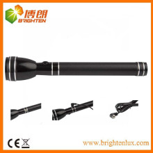 Factory Sale CE Custom Made Colorful High Power 3Watt CREE led Magnetic Control Rechargeable Most Powerful Torch Light