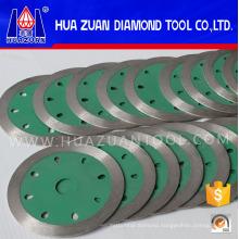 """Continuous Rim Super Premium 4"""" X 7/8"""" Arbor Diamond Blades for Tile Cutting and Porcelain Cutting"""