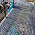 Grades de passarela em aço galvanizado