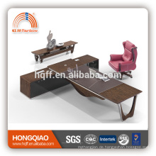 DT-19 Holz Büro Schreibtisch Edelstahl Tisch Basis Büro Executive Schreibtisch
