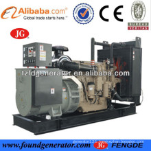 CE approved 30-300kw john deere engine powered john deere diesel generator