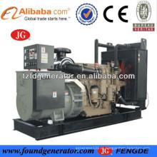 CE aprovado 30-300kw john deere motor powered john deere diesel gerador