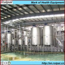 Ligne de traitement de lait de petite taille Uht de haute qualité avec 20 ans d'expérience