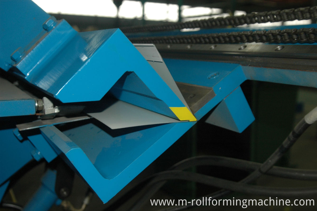 steel folding machine