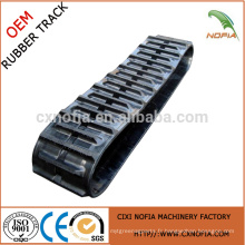 Rubber Track for Rice Harvester Machine