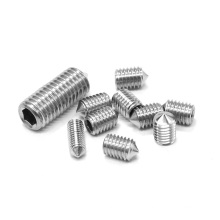 High quality Stainless steel SS304 SS316 set screw / tip screw DIN914