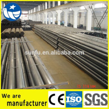 Suministro redondo cuadrado rectangular Q345 tubos de acero / tubos