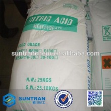 food additive chemical Factory Price Citric Acid Monohydrate BP98/E330                                                                                                         Supplier's Choice