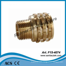 Brass Male Insert for PPR Fitting (F15-4074)