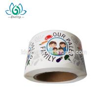 Kundenspezifische Druck gestanzte Logoaufkleberaufkleber, Vinylaufkleber